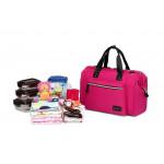 Colorland Diaper Bag Tote - Pink