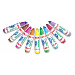 14 Crayola Pip-Squeaks Mini Washable Markers Felt Tip Colouring Pens, Pack of 14 - Ideal for Little Fingers