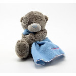 Me to You Blanket Teddy Bear Blue