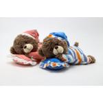 Teddy Bear (Sleeping-Bear), Blue
