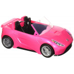 Barbie Glam Convertible Sports, Toy Vehicle for Doll, Pink Car