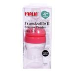 Farlin 150 Wide Neck Transbottle Silicone Feeder (Pink)