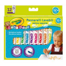 أقلام تلوين صغيرة للأطفال من كرايولا 12