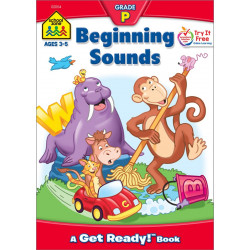 School Zoone - Beginning Sounds Grade P a get ready