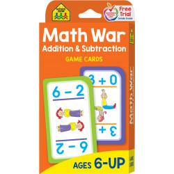 School Zone - Game Cards - Math War