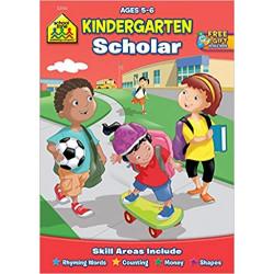 School Zone - Kindergarten Scholar Workbook, Ages 5 to 6