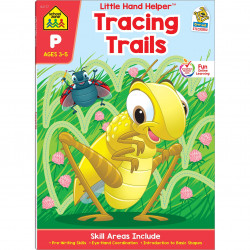 School Zone - Little hand helper tracing trails ages 3-5
