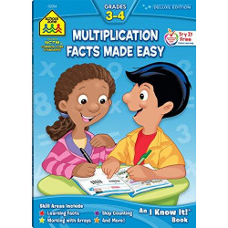 School Zone - Multiplication Facts Made Easy 3-4