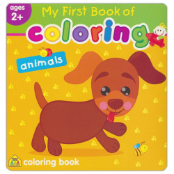 School Zone - My First Book of Coloring animals