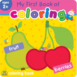 School Zone - My First Book of Coloring Fruit & Berries