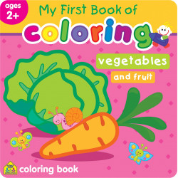 School Zone -My First Book of Coloring Vegetables and Fruits