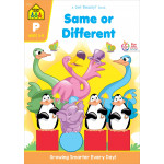 School Zone - Pre Same or Different Workbook
