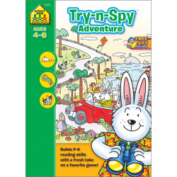 School Zone - Try-n-Spy Adventure Ages 4-6