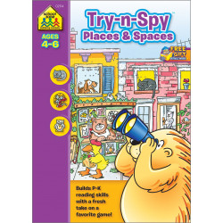 School Zone - Try n Spy Places and Spaces ages 4-6