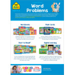 School Zone - Word Problems 1-2 ages 6-8 an i know it