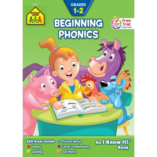 School Zone Beginning Phonics, Grades 1-2