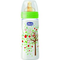 Chicco Well-Being Bottle 330Ml Fast Flow Neutral Latex