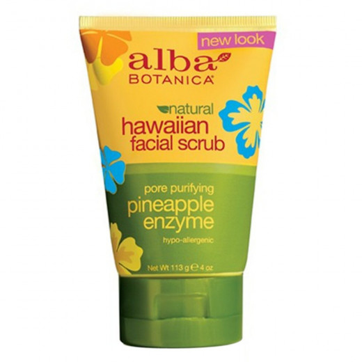 Alba Pineapple Enzyme Facial Scrub 113g