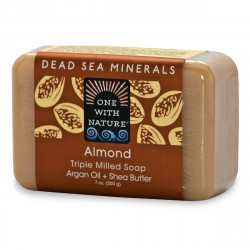 One With Nature Dead Sea Mineral Soap Almond