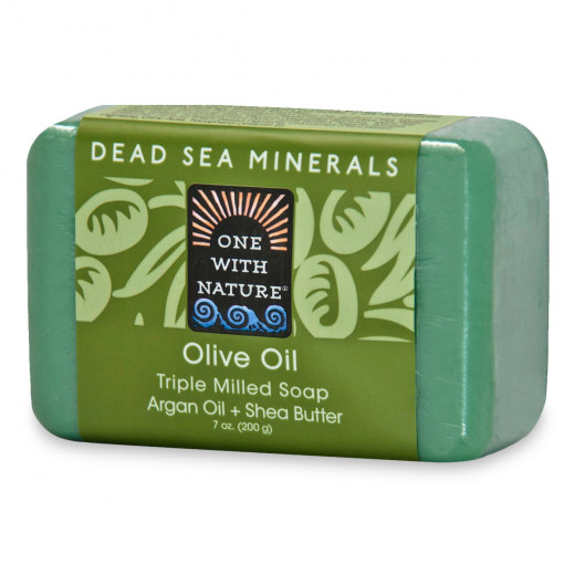 One With Nature Dead Sea Mineral Soap Olive Oil