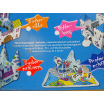 Centro Children Knight Castle Model Made of Cardboard to Build By Bourself Craft and Paint