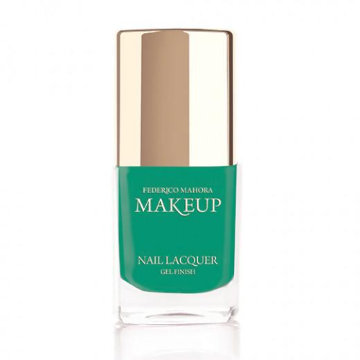 Federico Mahora - Nail Lacquer Gel Finish Amazon Green