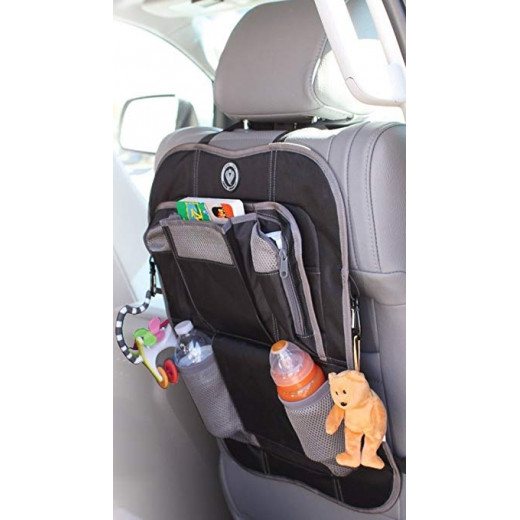 Prince Lionheart - Backseat Organizer, (Black)