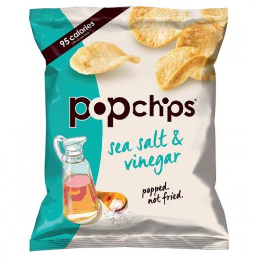 Pop Potato Chip - Sea Salt And Vinegar Potato Chips 142G