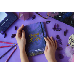 Marble Notebook - Purple