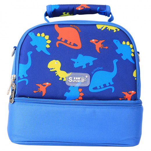 Sunveno Insulated Bottle and Lunch Bag - Dinosaur