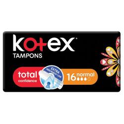 Kotex Tampons Normal, 16 Pcs