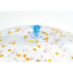 Intex Transparent Glitter Beach Ball, 1 Pack, Assorted Color