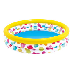 Intex 147 x 33cm Wild Geometry Three Ring Pool