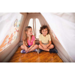 Intex - Animal Trails Indoor Play Tent, Ages 3-6 , 1.27 m x 1.12 m x 1.16 m