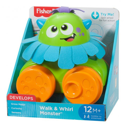 Fisher-Price Walk & Whirl Monster
