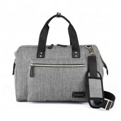 Colorland Diaper Bag Tote - Grey