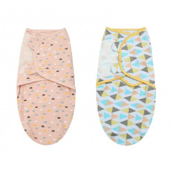 Colorland - (2) Adjustable Infant Wrap 2 Pieces Per Pack
