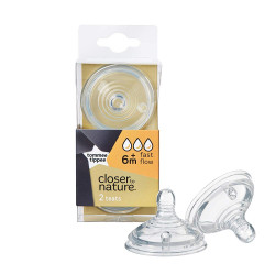 Tommee Tippee Closer to Nature Fast Flow Teats X2