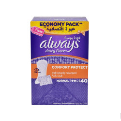 Always - Comfort Protect 40 Pads