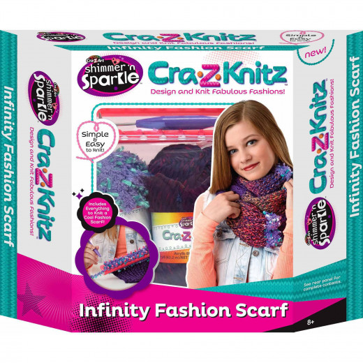 Cra-Z-Art Crazknitz Infinity Scarf