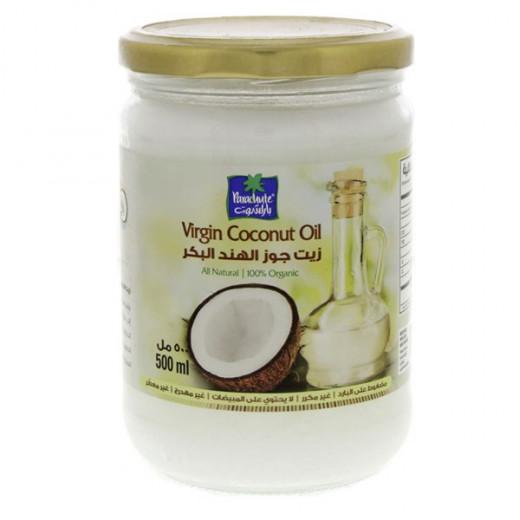 Parachute Coconut Oil Organic 100% 500ml (Glass Jar)