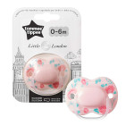 Tommee Tippee Little London Soother, 0-6 months, Pink