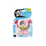 Tommee Tippee Closer To Nature Teether (Stage 2) +4 months, Pink