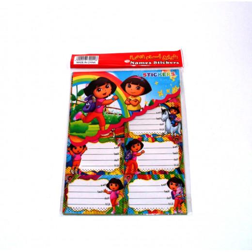 Dora Stickers, Small Size, 80 pieces