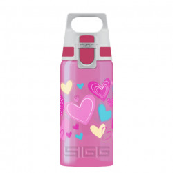 SIGG Kids Water Bottle VIVA ONE Hearts 0.5 L