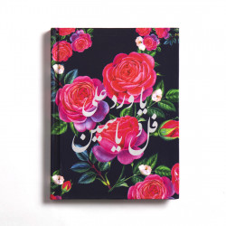 Floral Arabic Notebook Hardcover A6 Size