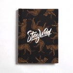 Cheetah Notebook Hardcover (Stay wild) A6 Size