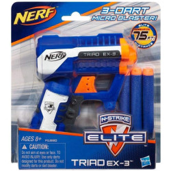 ان سترايك اليت ترياد اكس -3 ، ازرق من نيرف