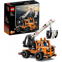 LEGO Cherry Picker Toy Truck, 2 in 1 Model, Tow Truck, 155 pieces