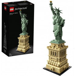 LEGO Architecture Statue of Liberty Model Building Set, 1685 Pieces
